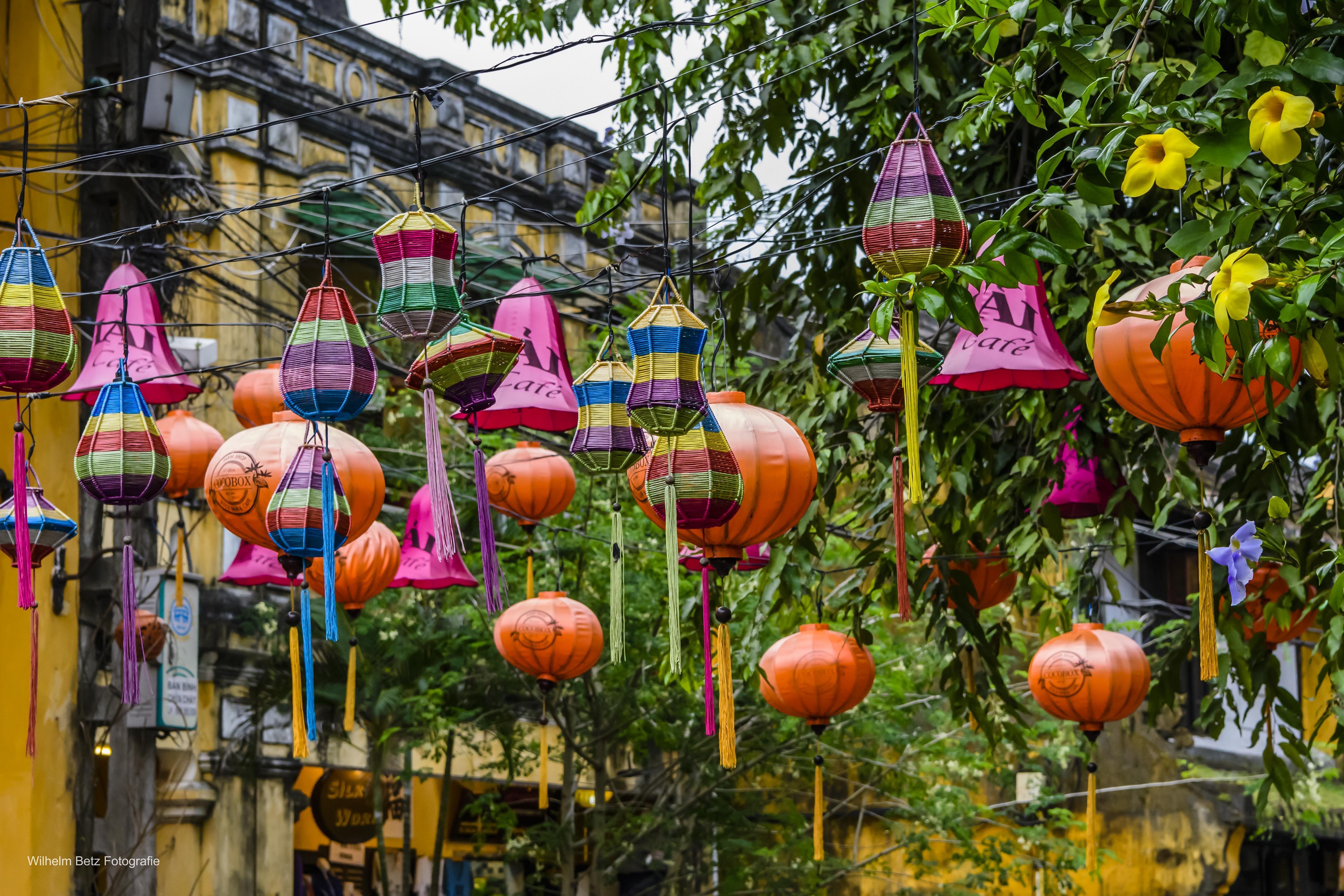 In den Straßen von Hoi An