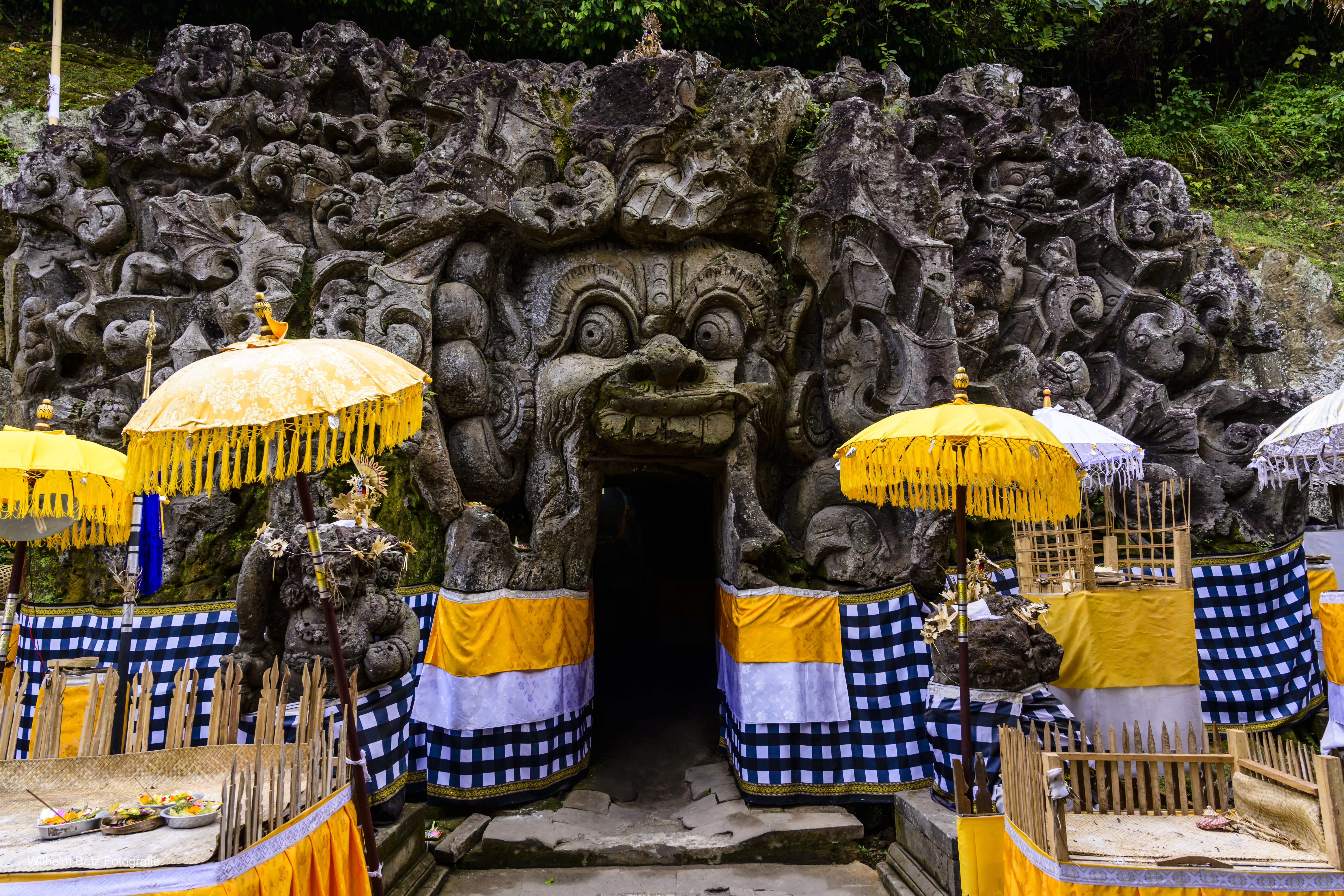 Bedulu - Elefant Höhle 1
