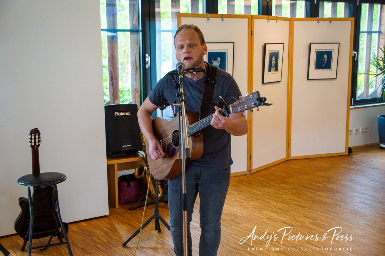 Die musikalische Begleitung von Patrik Loose